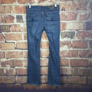 Seven7 Jeans Womens Boot Cut Size 32 Distressed